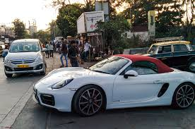 porsche boxster 2016 porsche launches the boxster gts and cayman gts in india team bhp