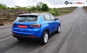 review on jeep compass jeep compass diesel suv review ndtv carandbike