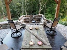Patio Fire Pit Designs Ideas Backyard Fire Pit Designs Rock Walls Outdoor Fire Pit Designs