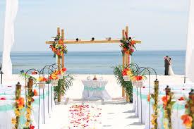 Bamboo Wedding Arch Create Your Own Beach Wedding Package Big Day Weddings