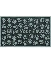 Wipe Your Paws Dog Doormat Deal Alert 30 Inch Outdoor U0027wipe Your Paws U0027 Grey Doormat Wipe