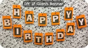 Halloween Theme Birthday Party by Measure Once Cut Twice Baseball Party Banner Part 2