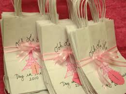 Eiffel Tower Decoration Ideas Set Of 10 Paris Party Themed Favor Bags Eiffel Tower Party
