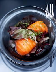 cuisine panais salade tiède de saumon fumé au panais et navet jaune pour 4