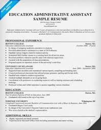 administrative assistant resume objective sample medical