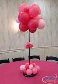 Table Top Balloon Centerpieces by Blue Balloon Tabletop Centerpiece Topiary Puffball Balloon