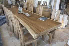 Esszimmer Tisch Massiv Esstisch Aus Suar Der Tischonkel