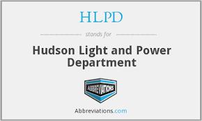 hudson light and power hudson light and power department