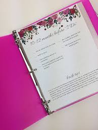 free wedding planner binder how to create a wedding organizer free printables samsill