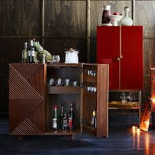 west elm bar cabinet rosanna ceravolo bar cabinet west elm red chairs pinterest