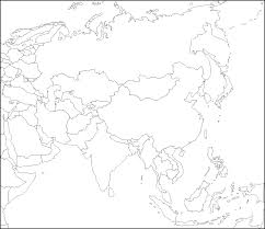 Blank Civil War Map by Blank Map Of Asia By Zalezsky On Deviantart