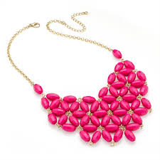 flower bead necklace images Bead gold statement necklace jpg