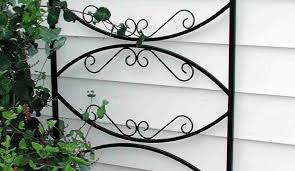 garden decoration ideas modern garden decoration design with white wood siding and black wrought iron english garden trellis beautiful garden decoration