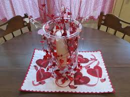 Valentine Decorating Ideas For Tables by Decorations Fancy Diy Vase Decoration With Love Placemat For
