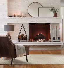 bowed fireplace screen rejuvenation