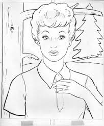 i love lucy coloring pages aecost net aecost net
