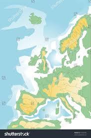 Mediterranean Europe Map by Sketchy Map Europe Mediterranean Vector Stock Vector 53726305