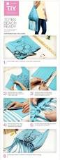 16 upcycled diy tote bag tutorials made from clothes gurl com