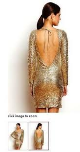 new years dresses for sale v shape backless gold sequin dress with sleeves for 2015 new