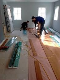 installing bamboo flooring homebuilding