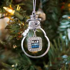 locket ornament 17 bookish ornaments for your christmas tree