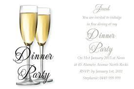 dinner party invitation templates cloudinvitation com