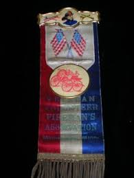 parade ribbon fireman s parade picture badge ribbon dept antique