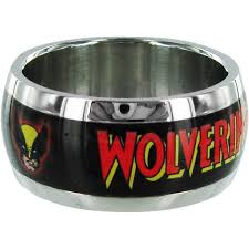 the marvels wedding band men wolverine stainless steel ring
