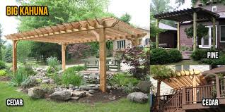 White Vinyl Pergola Kits by Pergola Depot Quality Affordable Customizable Easy To Assemble
