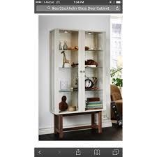 Ikea Stockholm Glass Door Cabinet Glass Door Cabinet Home Design And Decor