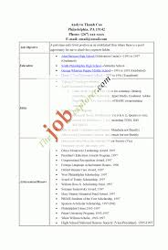 Resume For National Honor Society College Application Resume Builder Free Resume Example And