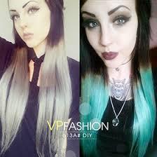 vpfashion hair extensions white diy dye indian remy clip in d613a d613a