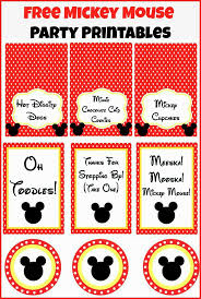 Mickey Mouse Invitation Cards Printable Best 25 Mickey Mouse Food Ideas On Pinterest Minnie Mouse