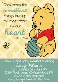 winnie the pooh baby shower winnie the pooh baby shower invitation printable by littleforests