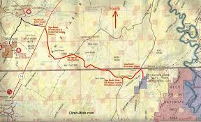 Utah Maps by Horseshoe Canyon Canyonlands National Park