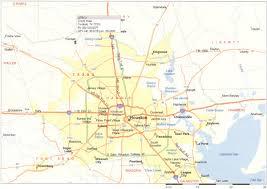 map of houston area houston metropolitan map houston tx mappery