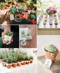 Flower Pot Wedding Favors - 10 great fall wedding favors for guests 2014
