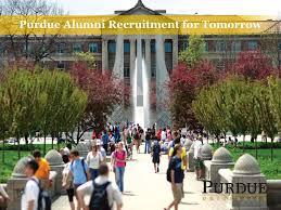 purdue alumni search purdue alumni recruitment for tomorrow ppt