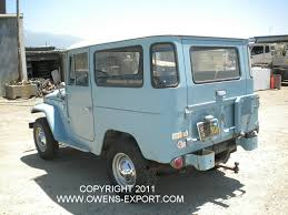 land cruiser fj40 owens export com 1966 toyota land cruiser fj40 for sale