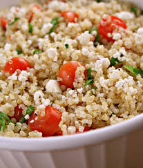 quinoa salad for thanksgiving check out quinoa with tomatoes basil u0026 feta it u0027s so easy to make