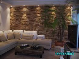 Wohnzimmer Deko Wand Attraktive Wandgestaltung Im Wohnzimmer Wand In Steinoptik