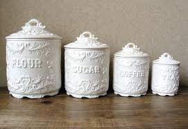vintage kitchen canister decorative canister sets inspiration gallery from vintage kitchen