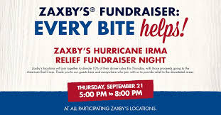 zaxby u0027s fundraising event for hurricane irma relief news 12 now