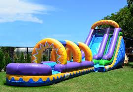 Backyard Slip N Slide Dolphin Bouncer Water Slide Bounce House Castle Castle House
