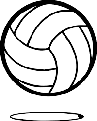 volleyball ball coloring wecoloringpage
