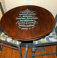 Painted Coffee Table Brag Monday Painted Coffee Sign Table And Owls The