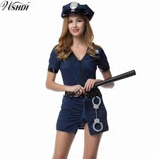 Halloween Costumes Adults Cheap Female Police Officer Halloween Costume