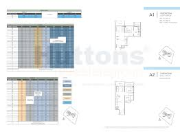 Bugis Junction Floor Plan by Sturdee Residences New Launch Condo