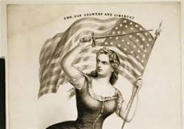Miss Me American Flag Hail Miss Columbia Once A U S Symbol She U0027s Lost Out To Uncle