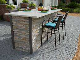High Patio Dining Set - pick your favorite outdoor space diy network blog cabin giveaway
